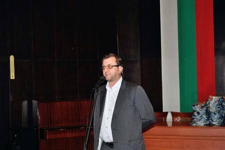 кдп Андриян Ефтимов поздравява участниците в конкурса